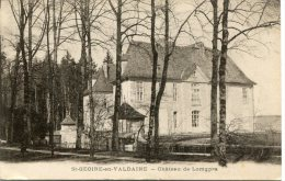 CPA 38 ST GEOIRE EN VALDAINE LE CHÂTEAU DE LOMGPRA - Saint-Geoire-en-Valdaine