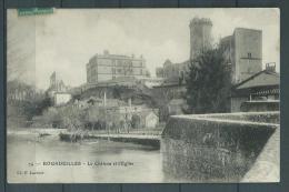 24 - Bourdeilles - Le Chateau Et L'Eglise - France