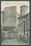 24 - Bourdeilles - Le Grand Donjon Et Le Chateau - Calèche, Cheval, Animée - France
