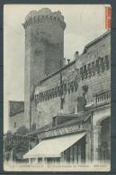 24 - Bourdeilles - Le Grand Donjon Du Chateau - Grand Café De La Halle - France