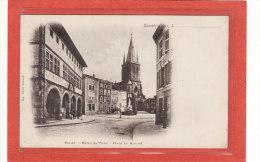 RAMBERVILLERS (88) / EDIFICES / EGLISES / MAIRIES / Eglise, Hôtel De Ville, Place Du Marché / Précuseur - Rambervillers