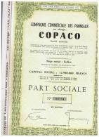 ACCION ANTIGUA - ACTION ANTIQUE = COPACO  1944  Bruselas - Acciones & Títulos