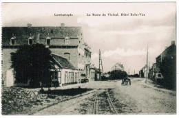 Lombardsijde, Lombartzyde, La Route Du Vicinal, Hôtel Belle Vue (pk12239) - Middelkerke