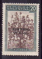 41-168 // ARG. - 1952  SEVICE  STAMPS    Mi  63 ** - Officials