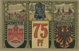 Notgeld  Harzquer- U. Brockenbahn Nordhausen - Wernigerode Bankfrisch - [11] Local Banknote Issues