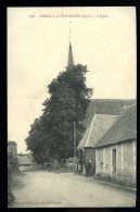 Cpa Du  27  Romilly  La  Puthenaye  L' église  ....  Beaumont Le Roger         6ao6 - Beaumont-le-Roger