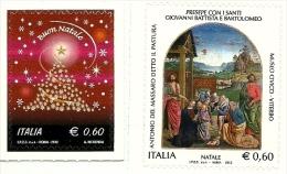 2012 - Italia 3409/10 Natale - Quadri