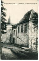 CPA 38 SAINT GEOIRE EN VALDAINE CHÂTEAU DE CABAROT - Saint-Geoire-en-Valdaine