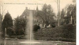 CPA 38 ST GEOIRE EN VALDAINE CHÂTEAU DE CABAROT - Saint-Geoire-en-Valdaine