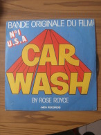 MUSIQUE - VINYL 45 TOURS - BO FILM : CAR WASH / PUT YOUR MONEY WHERE YOUR MOUTH - ROSE ROYCE - 1976 - MCA RECORDS - Filmmusik