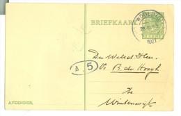 HANDGESCHREVEN BRIEFKAART Uit 1927 Van 't WOOLD (Gld)  Naar WINTERSWIJK (7888e) - Postal Stationery