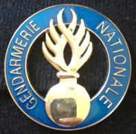 Insigne Rond Gendarmerie Nationale - Police & Gendarmerie