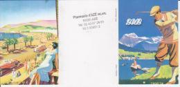 Calendrier De Poche Thème Golf - Année 2012 - Calendari