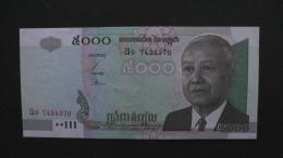 Cambodia - P 55a  - 5000 Riels- 2001- Unc - Look Scan - Kambodscha