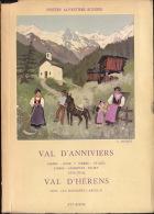 Schweizerische Alpenposten, Saastal Stalden - Saas Fee Und Almagel ; Karte 1/75 000 - 1953 - Livres, BD, Revues