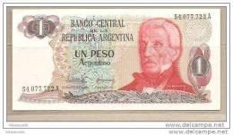 Argentina - Banconota Non Circolata FdS A 1 Peso P-311a.1 - 1983 - Argentina