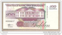Suriname - Banconota Non Circolata Da 100 Fiorini - 1998 - Suriname