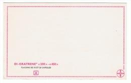 "BUVARD -Produits Pharmaceutiques Bayer ""Di-Oratrene -  Pharmacie- Médecine (sf73) - Produits Pharmaceutiques"