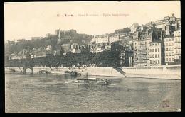 69 LYON 05 / Quai Fulchiron, Eglise Saint Georges / - Lyon