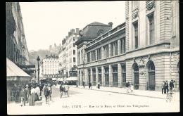 69 LYON 02 / Rue De La Barre Et L'Hôtel Des Télégraphes / - Lyon 2
