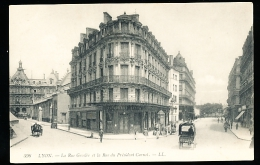 69 LYON 02 / La Rue Grolée Et La Rue Du Président Carnot / - Lyon