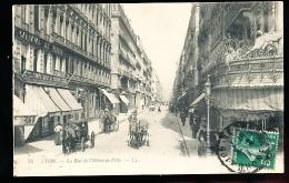 69 LYON 01 / Rue De L'Hôtel De Ville / - Lyon