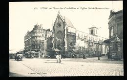 69 LYON 02 / Place Des Cordeliers Et Eglise Saint Bonaventure / - Lyon