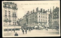 69 LYON 02 / Place Le Viste Et Rue De La République / - Lyon