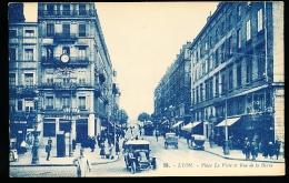 69 LYON 02 / Place Le Viste Et Rue De La Barre / - Lyon