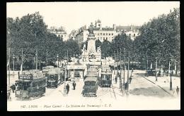 69 LYON 02 / Place Carnot, La Station Des Tramways / - Lyon