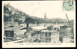 69 LYON 02 / Pont Du Midi Sur La Saône, Station Des Bateaux Mouches / - Lyon