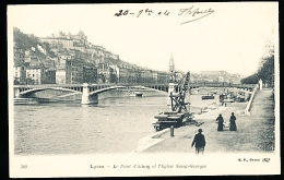 69 LYON 02 / Le Pont D'Ainay Et L'Eglise Saint Georges / - Lyon