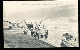 69 LYON 02 / Le Port, Quai Rambaud Et Le Côteau De Sainte Foy / - Lyon 2
