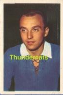 125 VAN HUFFEL NORBERT GANTOISE ** 1960'S IMAGE CHROMO FOOTBALL **  60'S  TRADING CARD ** VOETBAL KAARTJE - Trading Cards