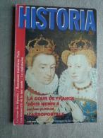 Historia N°462 Juin 1985. La Cour De France Sous Henry II, L'aéropostale  .Voir Sommaire. - History