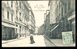 69 LYON 01 / Rue De La Bourse Et La Caisse D'Epargne / - Lyon