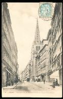 69 LYON 02 / Rue Centrale, Une Des Flèches De L'Eglise Saint Nizier / - Lyon