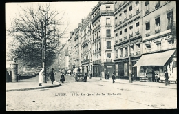 69 LYON 01 / Le Quai De La Pêcherie / - Lyon