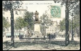 69 LYON 01 / Place De La Croix Rousse / BELLE CARTE COULEUR - Lyon