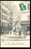 69 LYON 01 / Place Meyssonnier Et Statue De Pléney / - Lyon
