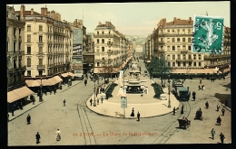 69 LYON 02 / Place De La République / - Lyon