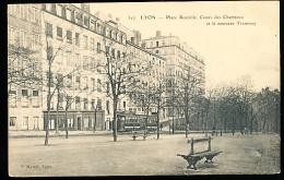 69 LYON 01 / Place Rouville, Cours Des Chartreux Et Le Nouveau Tramway / - Lyon