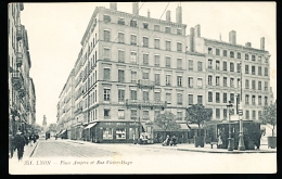 69 LYON 02 / Place Ampère Et Rue Victor Hugo / - Lyon 2