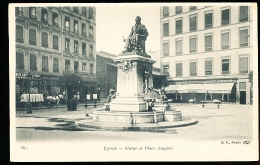 69 LYON 02 / Statue Et Place Ampère / - Lyon 2
