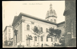 69 LYON 02 / Eglise Saint François / - Lyon