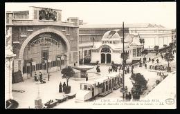 69 LYON 07 / Exposition Internationale 1914, Avenue De Marseille Et Pavillon De La Soierie / - Lyon 7