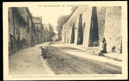 69 LYON 05 / Le Chemin Neuf Avant L'éboulement / - Lyon