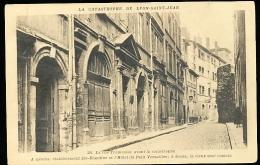 69 LYON 05 / La Rue Tramassac Avant La Catastrophe / - Lyon