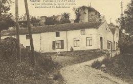 Sautour - Maison adossée à la Tour défendant la porte d´entrée ( voir verso )