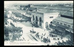69 LYON 02 / Réception De M. Poincaré à La Gare De Perrache / - Lyon 2